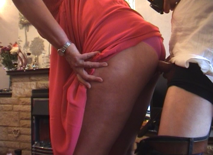 British Upskirt Panty Pervert Uses Leena Shy Dinner